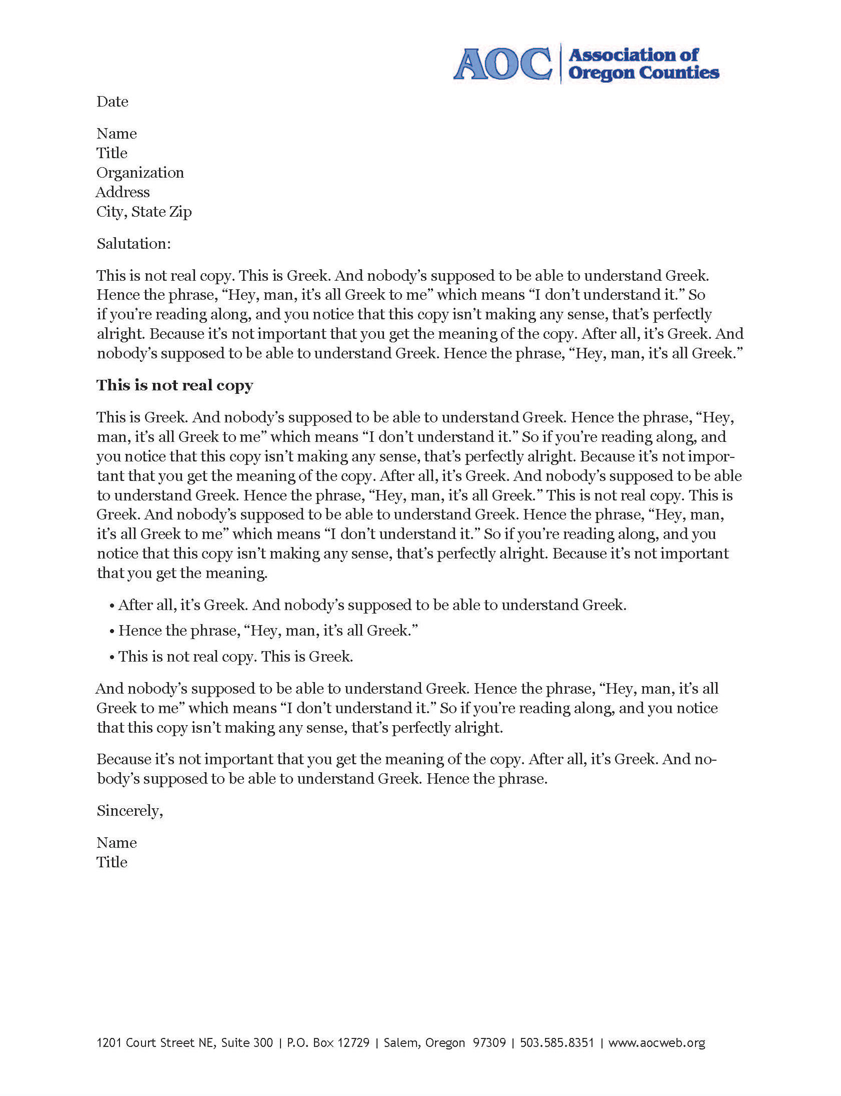 Letterhead templates how to: in Word - Optimize My Brand ...