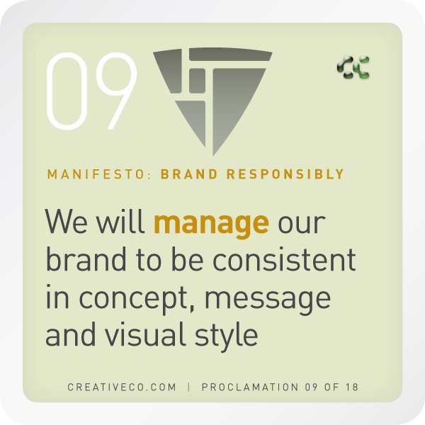 visual and verbal brand