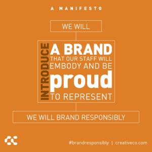 An internal brand program builds power: 6