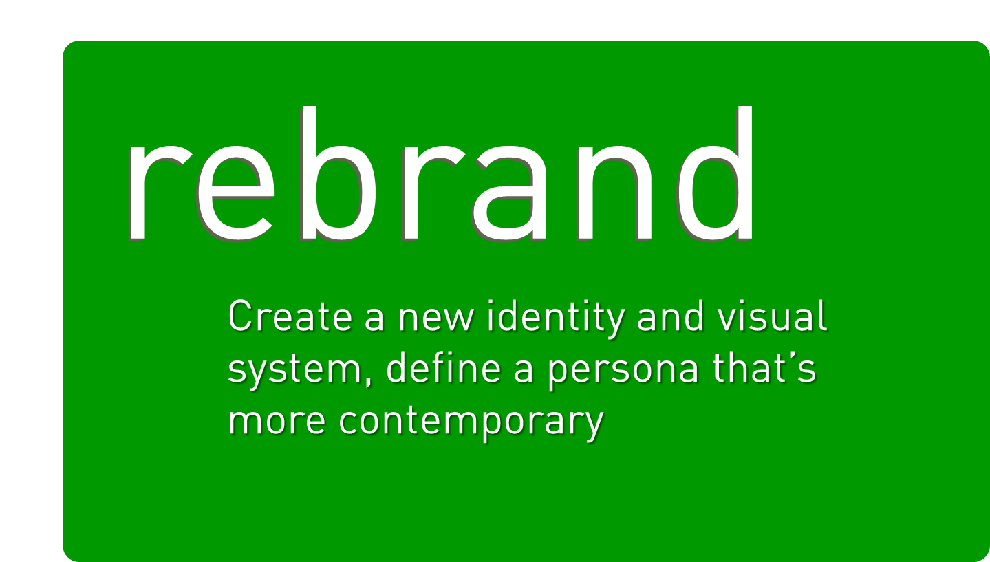 Is it time to rebrand? 4 reasons