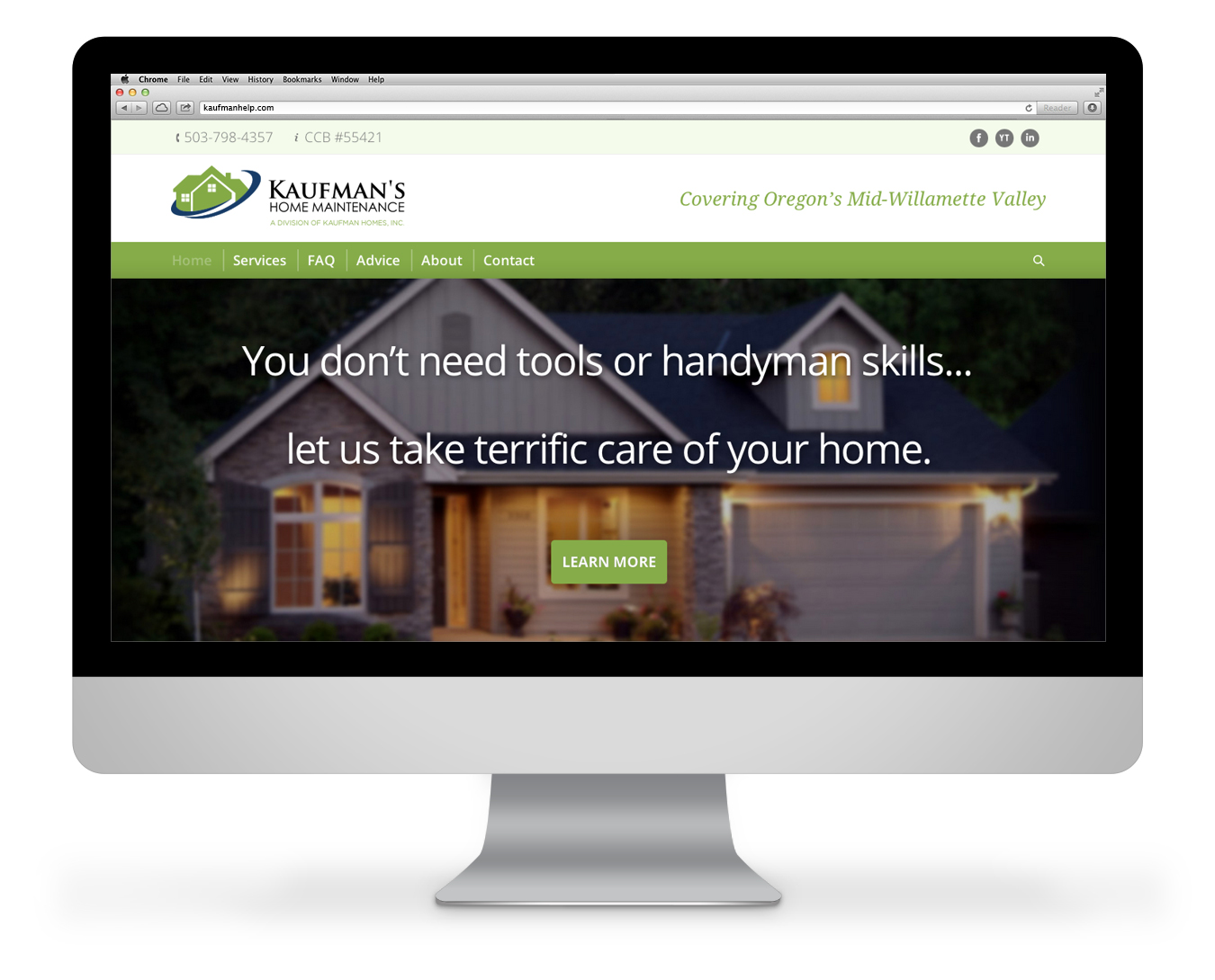 Website ideas and content reach homeowners