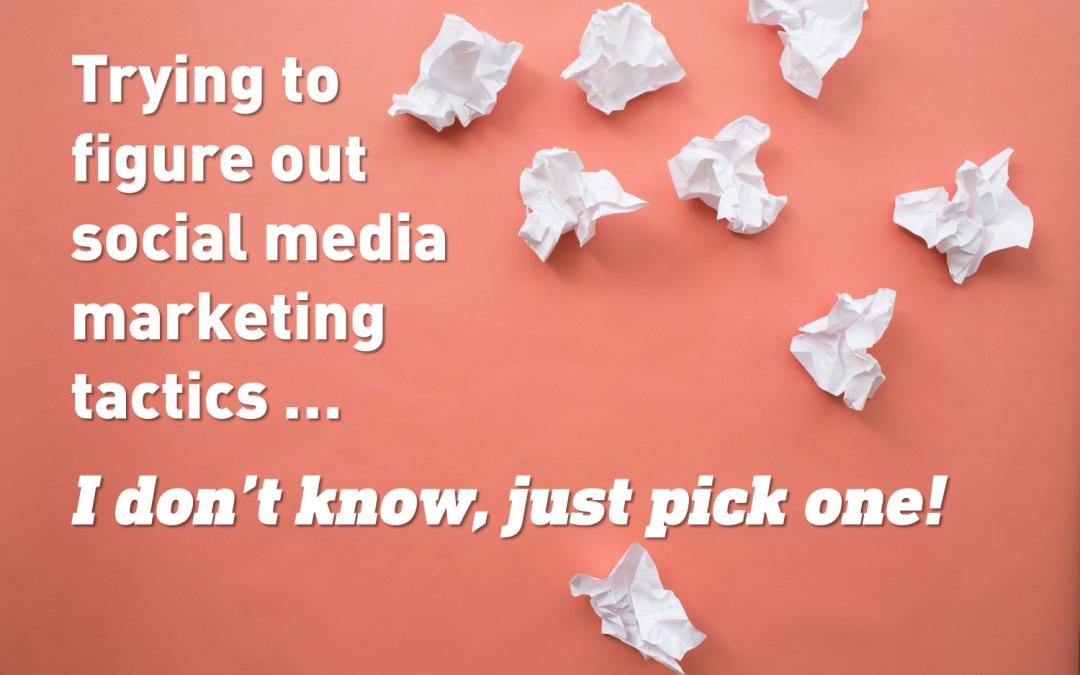 3 social marketing ideas: Put social media to work