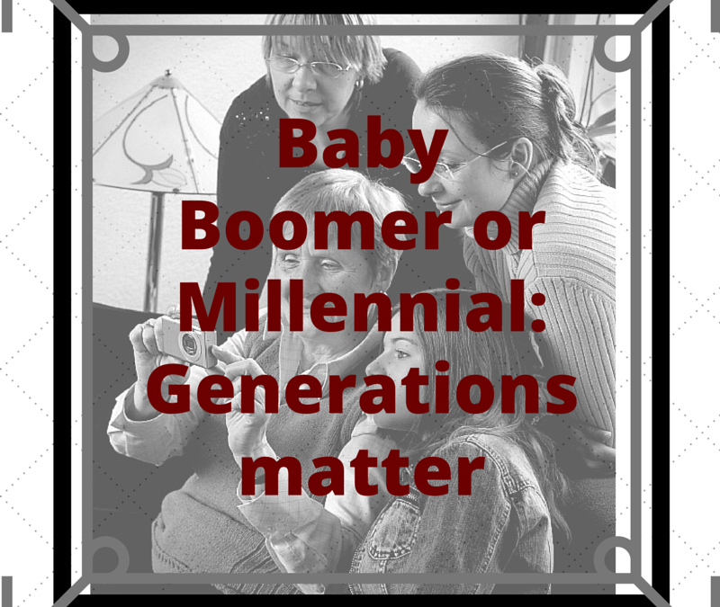 Marketing Mistake 10: Different Generations Don't Matter