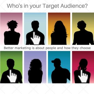 Who's in your target audience will drastically change your marketing.