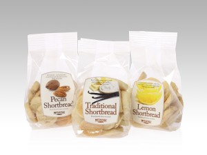 McTavish Shortbread Cookie packaging - 3 flavors