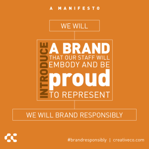 An internal brand program builds power: 6