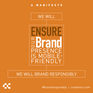 Ensure your brand presence is mobile-friendly