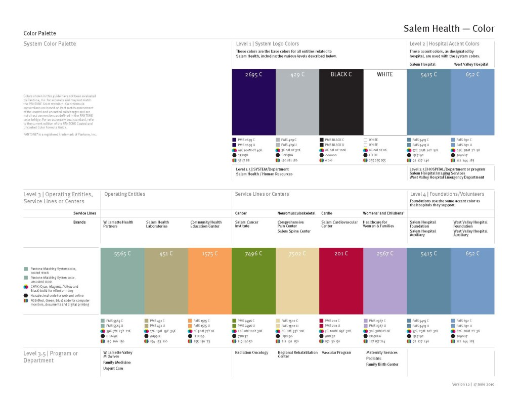 Brand templates for staff use brand guidelines