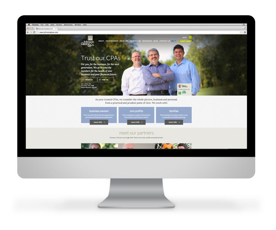 cpa marketing new JGC website