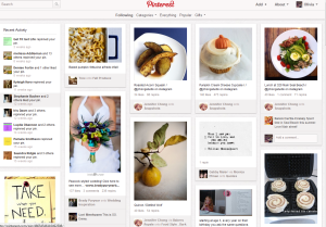 social media sites Pinterest