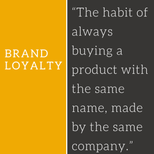 Brand-loyalty-defined