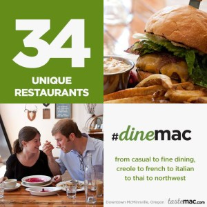 Integrated tourism marketing campaign: TasteMac