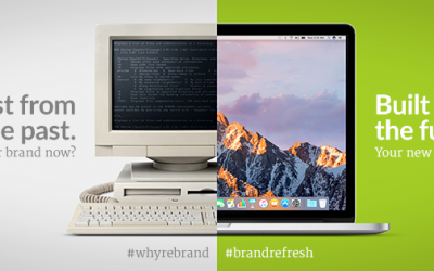 Why rebrand now? To seize your future …