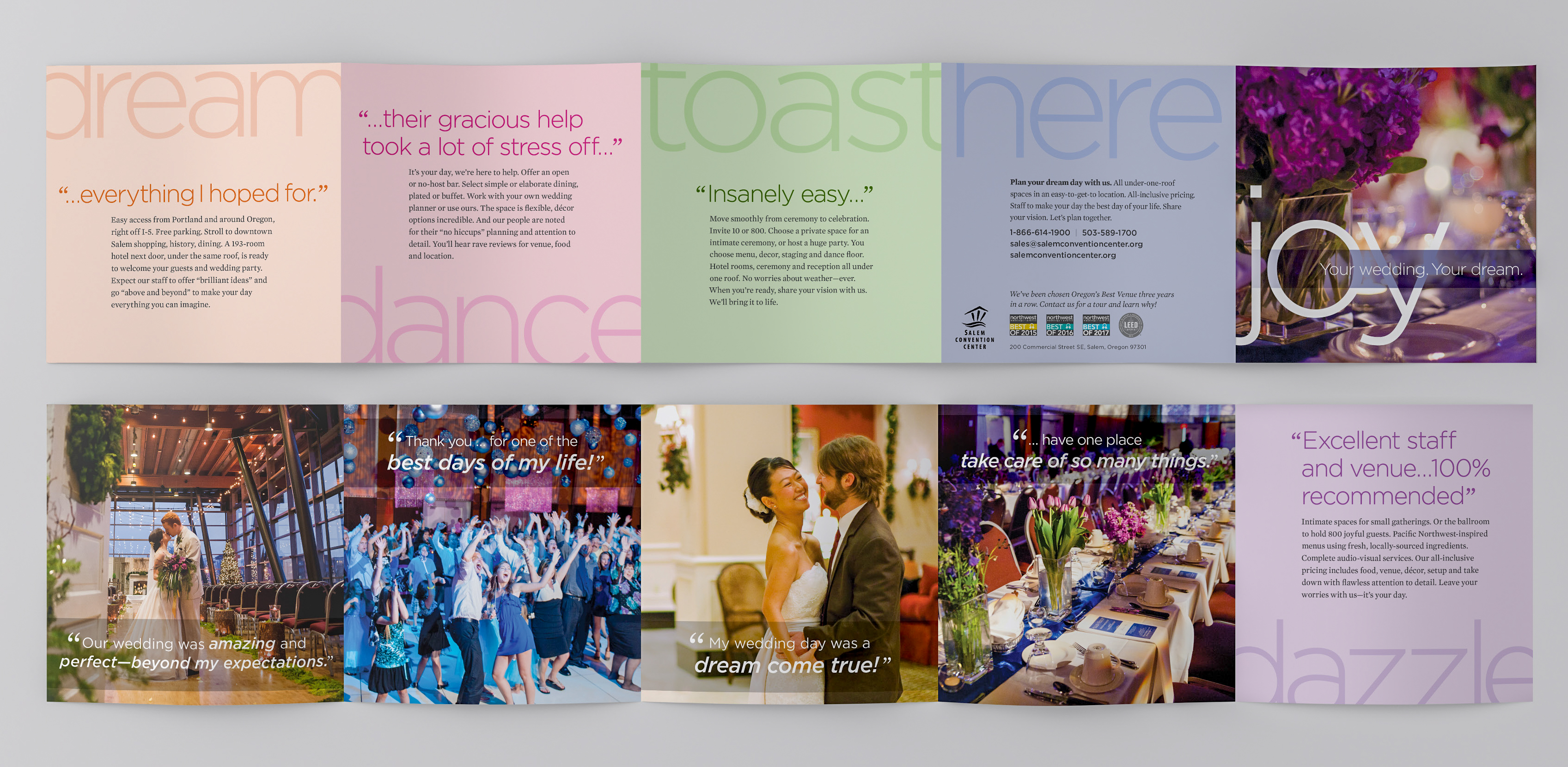 Gold Award Brochure Front Back
