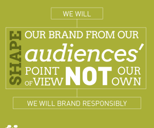 Audience perceptions are the foundation of a memorable brand: 2